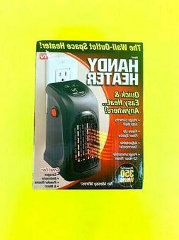 Ontel 350-Watt Wall Outlet Handy Heater Personal Space Heate