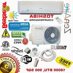 ZenAire Mini Split 18000 BTU 19 SEER INVERTER System Ductles
