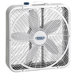 Lasko 3720 20″ Weather-Shield Performance Box Fan-Features