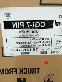 Weil-McLain CGi-7-PIN 167K BTU Hot Water Natural Gas Boiler
