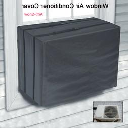 Evelots Air Conditioner Cover-A/C-Window-Indoor-Elastic-Doub