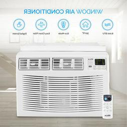 DELLA Window Mounted 8,000 BTU Mini Air Conditioner 115V AC