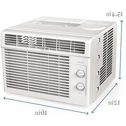 Window Mounted Air Conditioner Compact 7-speed AC Unit Small