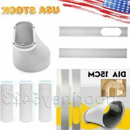 Window Slide Plate 15cm Window Adaptor Exhaust Hose Kit For