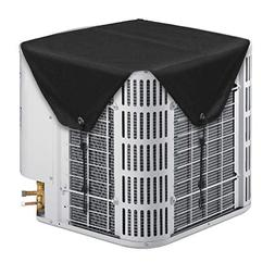 LBG Outdoor Winter AC Units Black Cover, Heavy Duty Top Air