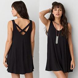 Women Dress, Wensltd Women's Casual Summer Sleeveless O-neck