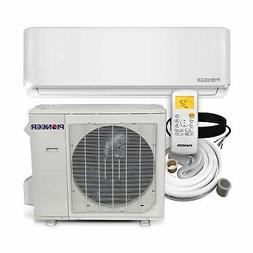 PIONEER Air Conditioner Minisplit Heatpump, 24000 BTU-208/23